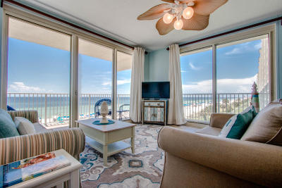 Panama City Beach FL Condo/Townhouse For Sale: $459,000