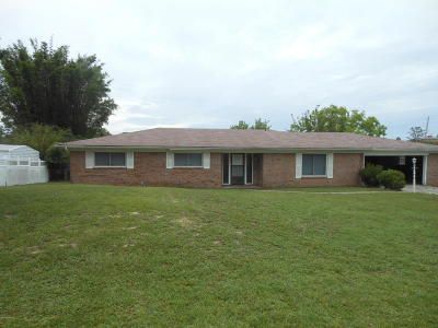 Panama City Single Family Home For Sale: 7125 Yellow Bluff Road