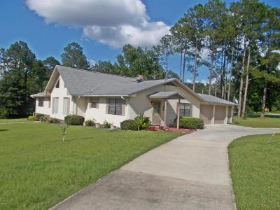 Marianna Single Family Home For Sale: 3208 Lake Place Drive
