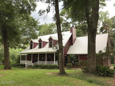Marianna Single Family Home For Sale: 2819 Jackson Bluff Rd Road