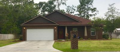 Lynn Haven Single Family Home For Sale: 1502 Michigan Avenue
