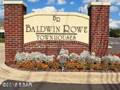 Panama City Condo/Townhouse For Sale: 1606 Baldwin Rowe Circle