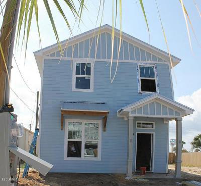 Panama City Beach Single Family Home For Sale: 3919 Ocean View Drive