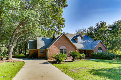 Panama City Single Family Home For Sale: 4139 Deerpoint Lake Drive