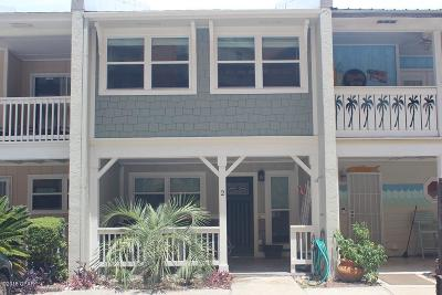 Treasure Island, Treasure Island Resort Condo/Townhouse For Sale: 5016 Gulf Drive #2