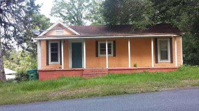 Marianna FL Single Family Home For Sale: $49,000