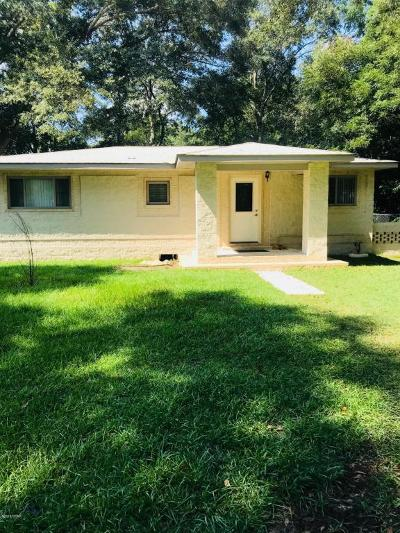 Graceville FL Single Family Home For Sale: $135,000