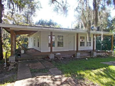 Marianna FL Single Family Home For Sale: $65,000