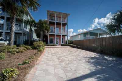 Panama City Beach Single Family Home For Sale: 6724 Beach Drive