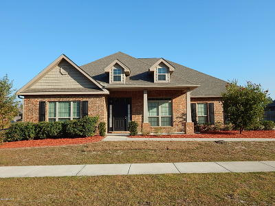 Panama City Single Family Home For Sale: 3813 Whitehead Boulevard
