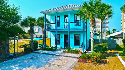 Panama City Beach Single Family Home For Sale: 6605 Beach Drive