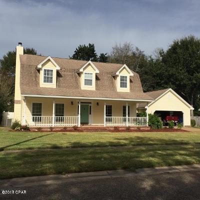 Panama City Single Family Home For Sale: 2712 Pembroke Drive