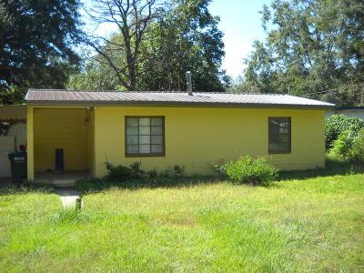 Marianna FL Single Family Home For Sale: $59,900