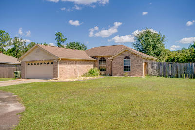 Bay County Single Family Home For Sale: 1703 Rhett Place