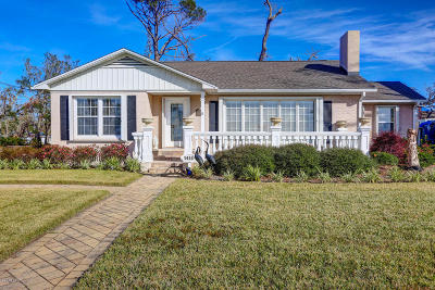 Panama City Single Family Home For Sale: 1410 W Beach Drive
