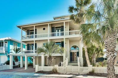 Bay County Single Family Home For Sale: 360 Beachside Drive