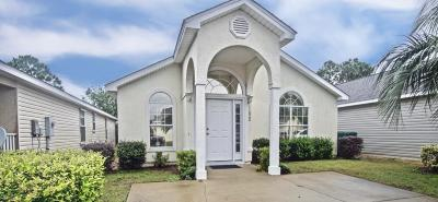 Panama City Beach FL Single Family Home For Sale: $189,900