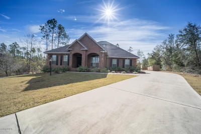 Panama City Single Family Home For Sale: 152 Lake Merial Trail