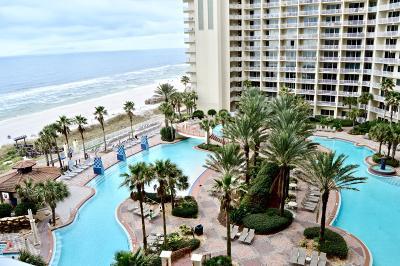 Panama City Beach Condo/Townhouse For Sale: 9900 S Thomas Drive #724