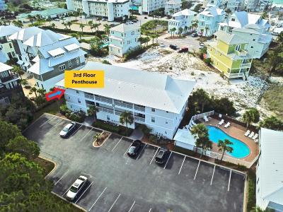 Santa Rosa Beach Condo/Townhouse For Sale: 11 Beachside 1233 Drive #1233