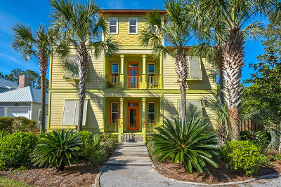 Santa Rosa Beach Single Family Home For Sale: 348 Lakewood Drive