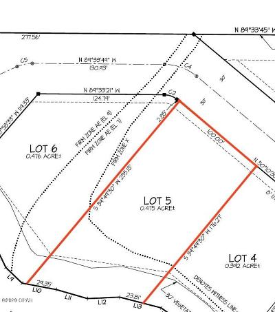 Bay County Residential Lots & Land For Sale: Lot 5 Frankford Avenue