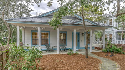 Santa Rosa Beach Single Family Home For Sale: 119 E Grove Street