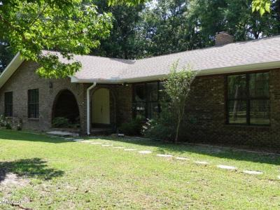 Bay County Single Family Home For Sale: 10717 Vickery Lane