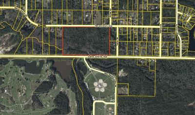 Bay County Residential Lots & Land For Sale: 7924 Brandon Road