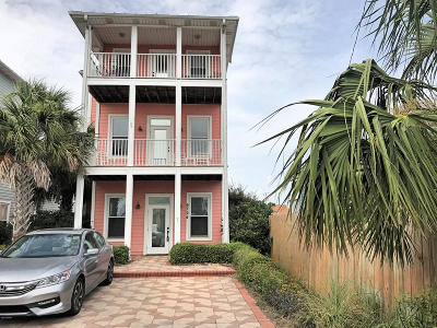 Panama City Beach FL Single Family Home For Sale: $350,000