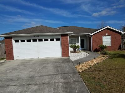 Bay County Single Family Home For Sale: 5012 Tommy Smith Drive