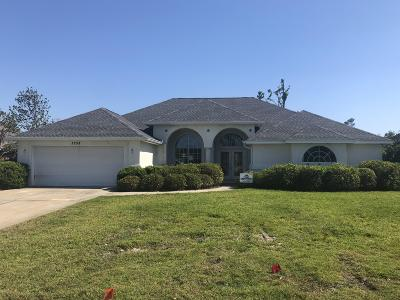 Lynn Haven Single Family Home For Sale: 3258 Country Club Drive