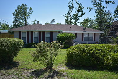 Bay County Single Family Home For Sale: 8609 Deerpoint Drive