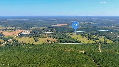 Holmes County Single Family Home For Sale: 100 Acres Bowers Road