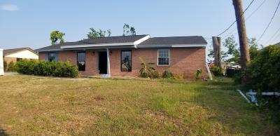 Bay County Single Family Home For Sale: 4104 Leslie Lane