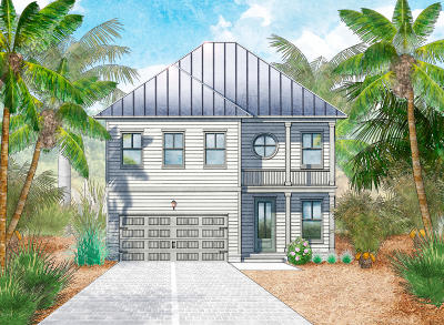 Inlet Beach Single Family Home For Sale: Lot 52 W Grande Pointe At Inlet Beach