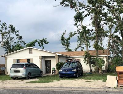 Panama City FL Single Family Home For Sale: $75,000