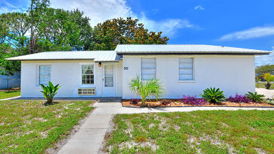 Bay County Single Family Home For Sale: 502 Evergreen Street