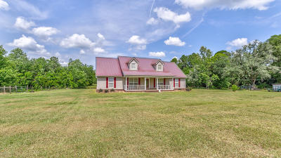 Holmes County Single Family Home For Sale: 1326 Metcalf Road