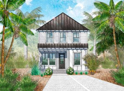 Inlet Beach Single Family Home For Sale: Lot 27 Valdare Way