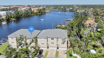 Panama City Condo/Townhouse For Sale: 244 E 3rd Place