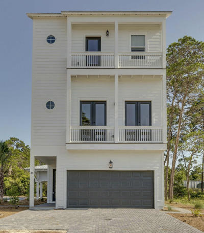 Inlet Beach Single Family Home For Sale: 33 Valdare