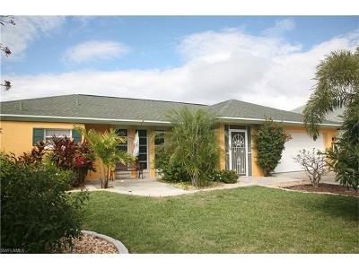 Cape Coral FL Single Family Home For Sale: $253,000