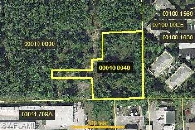 Bonita Springs Residential Lots & Land For Sale: 000 Access Undetermined
