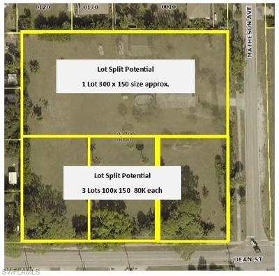 Bonita Springs Residential Lots & Land For Sale: 27720 Matheson Ave