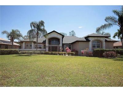 Estero Single Family Home Pending With Contingencies: 20123 Cheetah Ln