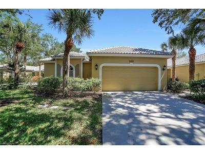 Bonita Springs Single Family Home For Sale: 3468 Cedar Lake Ct