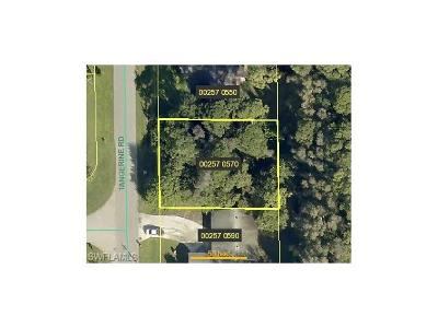 Fort Myers Residential Lots & Land For Sale: 19077/081 Tangerine Rd