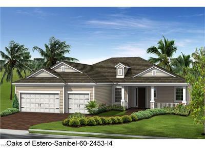 Estero Single Family Home For Sale: 21551 Oaks Of Estero Cir
