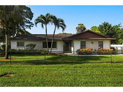 Bonita Springs Single Family Home For Sale: 10990 Dean St